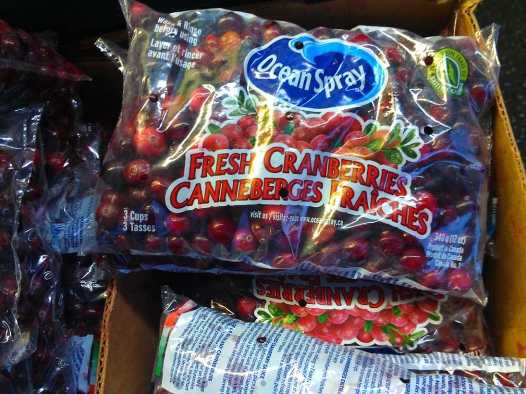 Ocean Spray Fresh Cranberries one bag