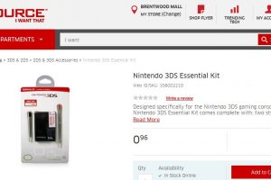 Nintendo 3DS essential kit
